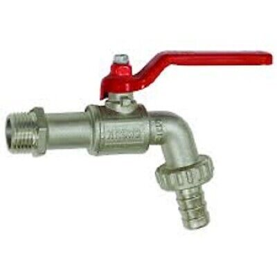 Bibcock Valves  :  Male BSP X Hose Tail  :  3/4  And 1  BSP  :  PN16  • 9.75£