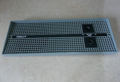 Fidelity HF45 Record Player Front Grille • 10.99£