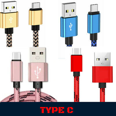 $ CDN5.18 • Buy Fast Samsung Galaxy S10 S9 S8 Plus Type C USB-C Data Charger Charging Cable Lead