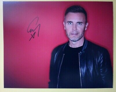 GARY BARLOW Hand Signed 10 X 8 Photo Autograph Singer Songwriter Take That • 29.99£
