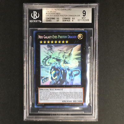 AU199.99 • Buy Neo Galaxy-Eyes Photon Dragon - GAOV-EN041 - Ghost Rare BGS 9 MINT