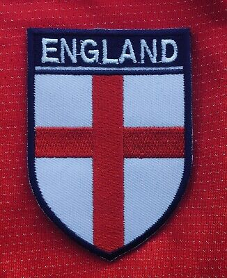 England Flag St George Cross  Football Crest Badge Sew On Patch • 2.99£