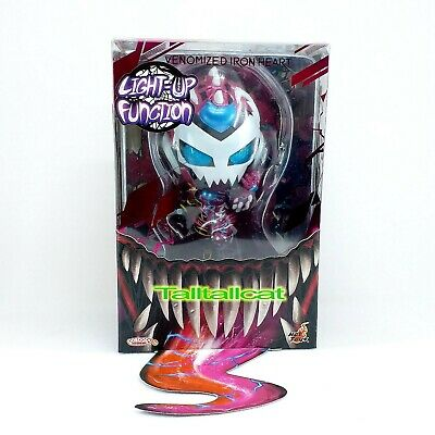 $ CDN30.32 • Buy Marvel Hot Toys COSB764 Venomized Iron Heart Cosbaby [ Light Up ] In Stock