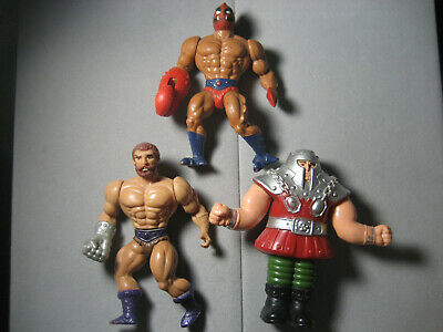 $26.14 • Buy Vintage MOTU Masters Of The Universe Ram Man Fisto Clawful Lot Of 3