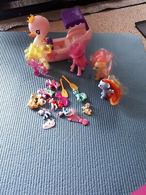 My Little Pony Job Lot Bundle With Swan Carriage  • 2.99£