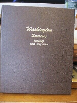 $ CDN113.88 • Buy DANSCO 8140 Washington Quarters W/Proofs 1932 To 1995 / 7 Pages / 42 Coins