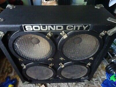 Sound City 4x12 Cabinet Very Rare Item,never Seen Another.open To Offers • 405£