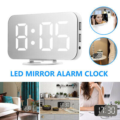 $13.59 • Buy Digital Indoor/Outdoor Thermometer Clock Temperature Meter Wireless Transmitter