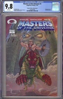$224.95 • Buy Masters Of The Universe 1 Cgc 9.8 Graham Crackers Wrap-around Variant !