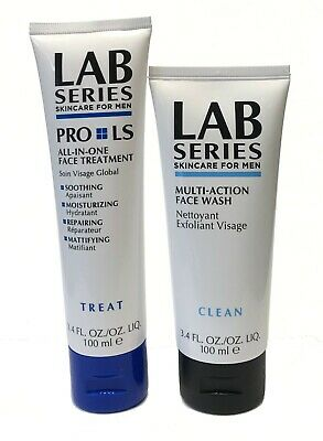 £32 • Buy Lab Series Pro LS All In One Face Treatment Treat + Multi-Action Face Wash 100ml