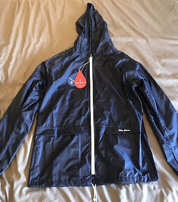 Men's Peter Storm Blue Navy Cagoule Raincoat Large - Never Worn - New With Tags • 75£