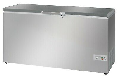 Stainless Steel Lid Commercial Chest Freezer 476 Litres • 755£