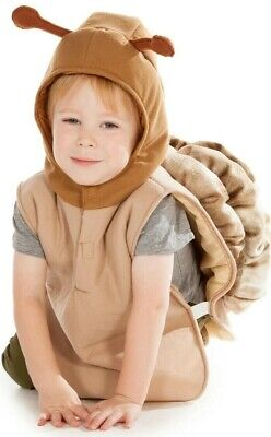 Child Kid Snail Garden Insect Fancy Dress Costume Age 3 4 5 6 7 Year Boy Girl  • 18.95£