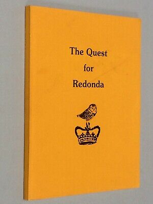 $84.62 • Buy Quest For M P SHIEL'S REDONDA - A Reynolds Morse (1979) Limited Edition Private