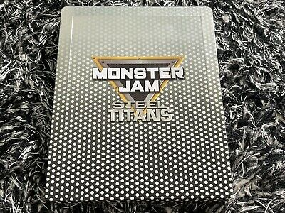 AU49.99 • Buy Monster Jam Steel Titans PS4 Game Sony PlayStation 4 - Rare Steelbook Case