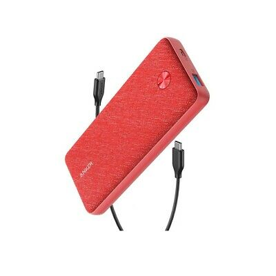 AU125.90 • Buy Anker PowerCore Essential 20000 PD Power Bank - Pink Fabric
