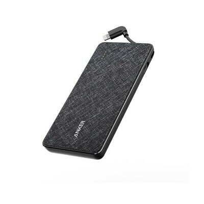 AU125.95 • Buy Anker PowerCore+ Metro 10000 Power Bank With Built-in Lightning Connector - Blac