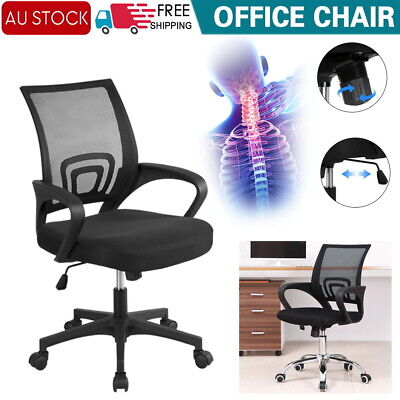 AU45.60 • Buy Office Chair Gaming Chair Computer Mesh Chairs Work Executive Seating Study Seat