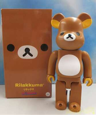$220 • Buy MEDICOM TOY Be@rbrick Bearbrick Rilakkuma 400% 2011 Very Rare From Japan