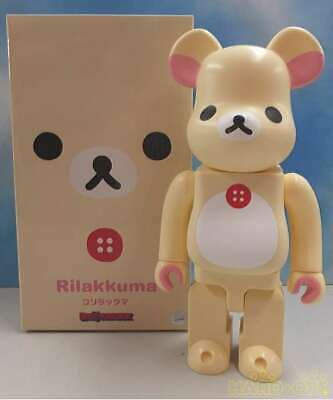 $220 • Buy Medicom Toy Rilakkuma Korilakkuma X BE@RBRICK Bearbrick From Japan Super Rare
