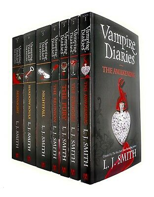 Vampire Diaries The Awakening And The Return 7 Books Set Collection L. J. Smith  • 25.99£