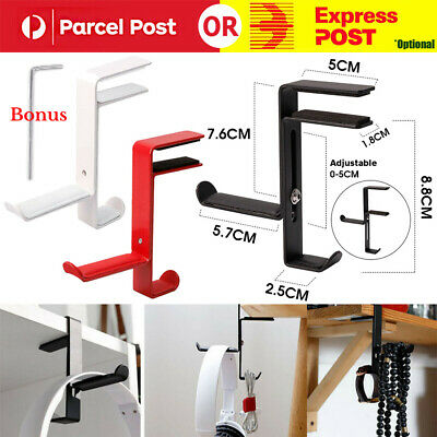 AU9.95 • Buy Display Stand Holder For Headphone Earphone Headset Acrylic Hanger Desk