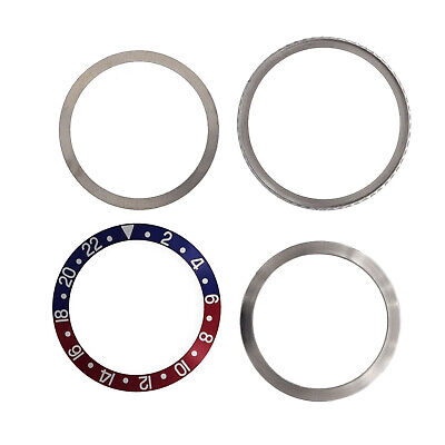 $ CDN139.80 • Buy Rotating Bezel Assembly For Rolex GMT 1675 16750 16753 Blue And Red Insert