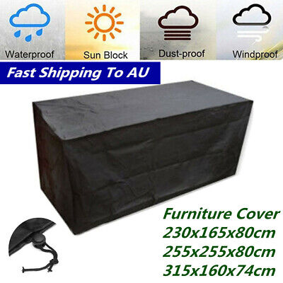 AU30.99 • Buy 10 Typ Waterproof Furniture Cover Outdoor Garden Patio Dustproof Rain Protection
