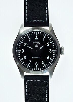 $ CDN242.02 • Buy MWC Classic 24 Jewel Automatic 46mm/1.81  Limited Edition Military Pilots Watch