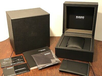 $ CDN21.46 • Buy New! Genuine RADO Switzerland Watch Presentation Box