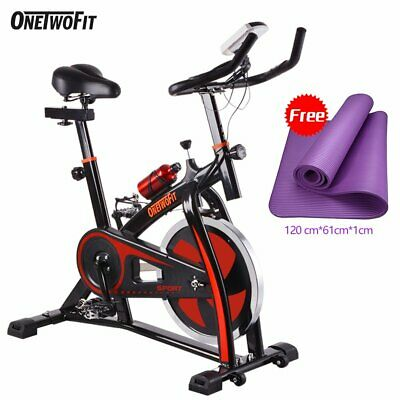£159.99 • Buy Exercise Spin Bike Home Gym Bicycle Cycling Cardio Fitness Training Indoor