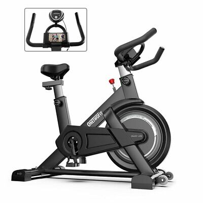 £188.99 • Buy Exercise Spin Bike Home Gym Bicycle Cycling Cardio Fitness Training Workout Bike