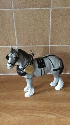 Leonard Grey Shire With Harness • 7£
