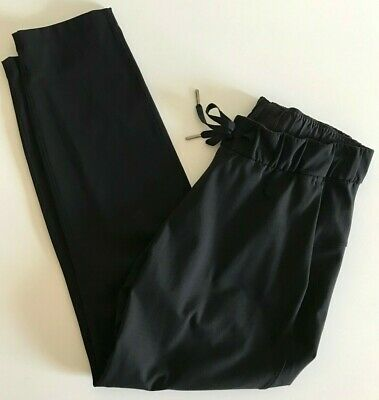 $ CDN80 • Buy Lululemon  On The Fly Pant  Sz 6 Small ~ Black ~ 28  Inseam Travel Leisure Pants