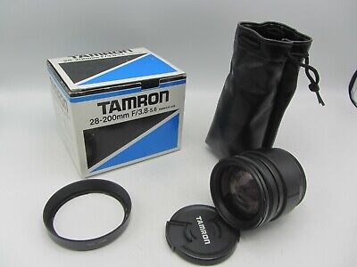 Tamron Aspherical 71A 28-200mm F3.8-5.6 Adaptall Mount Lens For SLR Cameras • 32.62£