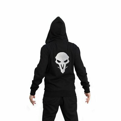 AU86.65 • Buy Overwatch Reaper Hero Hooded Zip Male Smll Black/red (chm002ow-s)