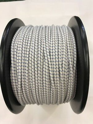 £6.75 • Buy 15 Metres Of 3 Mm Replacement Shock Cord/elastic For Fiberglass Tent Poles-white