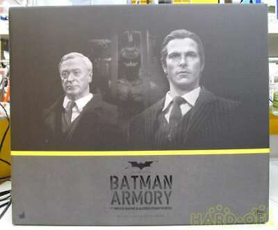 $ CDN1600.89 • Buy Hot Toys MMS 236 Dark Knight Alfred Pennyworth Batman Armory & Bruce Wayne JAPAN
