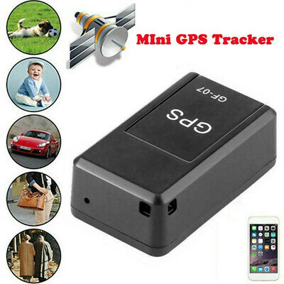 Magnetic Mini GPS Tracker Car Kids GSM GPRS Real Time Tracking Locator Device UK • 8.59£