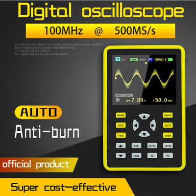 Handheld Digital Oscilloscope 5012H IPS LCD Display DSO 2.4  100MHz 500MS/s • 68.90£