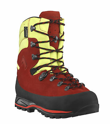Haix 603114 Protector Forest 2.0 Red-Yellow Class 2 Chainsaw Gore-Tex Forestry B • 254.90£