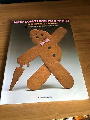 New Songs For Children- The Gingerbread Man Book (Piano, Vocal, Guitar) • 5£