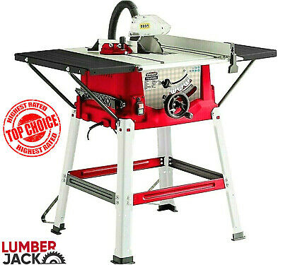 £179.99 • Buy Lumberjack 10  1800w 250mm Bench Table Saw With Legstand Extensions & Blade 230v