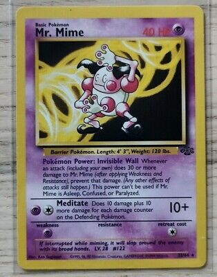 Jungle Set 1999 Pokemon Cards - Various Conditions - WOTC - Pick Your Own Card • 2£