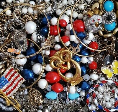 $ CDN38.21 • Buy Vintage Now Unsearched Untested Junk Drawer Jewelry Lot Estate All Wear LW76