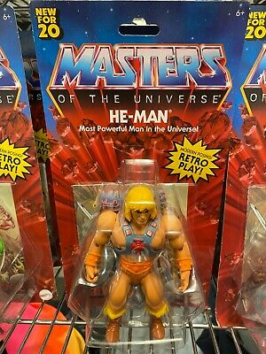 $29.99 • Buy 2020 MOTU Masters Of The Universe Origins He-Man SOLD OUT!! HOT!!