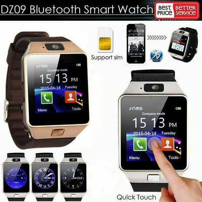 AU14.64 • Buy DZ09 Bluetooth Smart Watch Camera Phone Mate GSM SIM For Android Samsung 2020