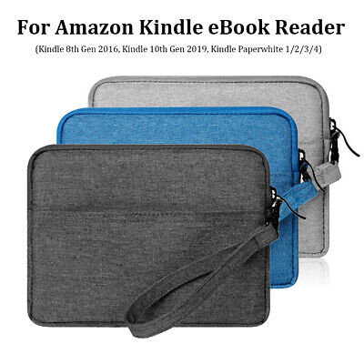 6  E-Reader Sleeve Case Bag Cover For Amazon Kindle 10th 2019 Paperwhite 1/2/3/4 • 6.55£