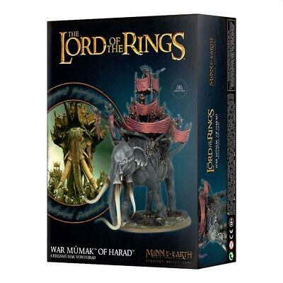 £65 • Buy Middle-Earth/Lord Of The Rings: War Mumak Of Harad, LOTR Minatures