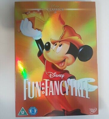 Fun And Fancy Free Disney Classic #9 DVD With Limited Edition O-Ring Sleeve New • 14.99£